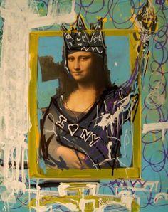 Mi Mona Lisa 4 [Domingo Zapata] (Gioconda / Mona Lisa)