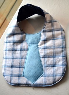 Super cute little tie bib for my baby boy :)