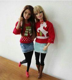 Barbies navideñas