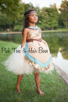 Pocahontas tutu dress Antonia Arriola Child Model