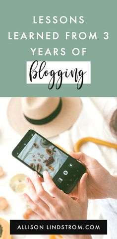 I started the Allison Lindstrom blog back in 2015 when I was nursing my baby boy. It's been a long journey over the past three years. And I've learned a few things that I wanted to pass along. Here are my lessons learned from 3 years of blogging. #blogging #blogtips #bloggingtips #howtoblog #workfromhome #workathome #blogger #wahm #makemoneyblogging Business Advice, Online Business, Start Up Business, Make Money Blogging, How To Make Money, Blogging For Beginners, Lessons Learned, Blog Tips, How To Start A Blog