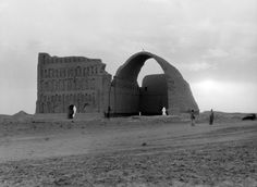 Ruins of Ctesiphon, Iraq - picture from 1932
