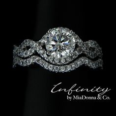 Infinity - Wedding Ring Set