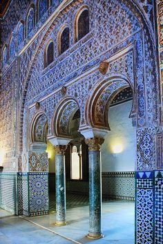 Sevilla. Reales Alcázares - Salón de Embajadores. (by josemazcona)