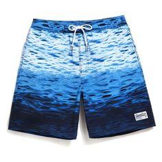 Men Beach Shorts Boxer Shorts Boardshorts Fashion Swimwear Casual