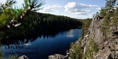 HIrviäkuru gorge in Sodankylä, Finnish Lapland. Photo by Jani Kärppä. #filmlapland #arcticshooting #finlandlapland