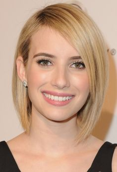 Emma Roberts New Short Bob Cut
