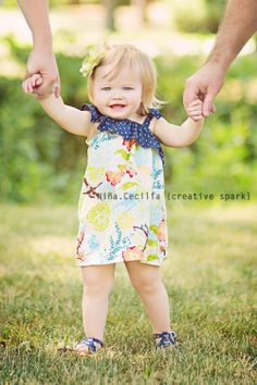 LIMITED EDITION - Ruffled One Shoulder Hummingbird Dress - Baby Toddler Girl Designer Cotton Dress - Perfect for Easter Spring Summer