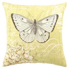 I pinned this Butterfly Pillow from the Creature Comforts event at Joss and Main!