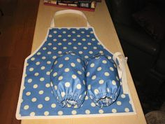 apron and sleeve protectors - Sew Liberated