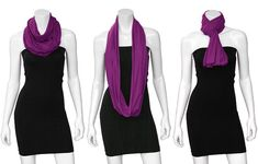 ten ways to wear an infinity scarf | Henkaa Blog