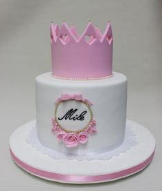 Crown Cake  Violeta Glace