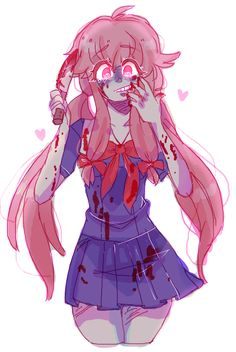 Anonymous said: Art suggestion: yunO gasai??? if not ryuko from kill la kill mayBe??? btw im deeply in live with your aRt Answer: her !! i'm glad u like my art