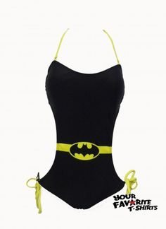 Batgirl Batman Symbol Monokini DC Comics Licensed S-XL New. Not a batman fan but this super cute! I'd get it! Actually I do want it