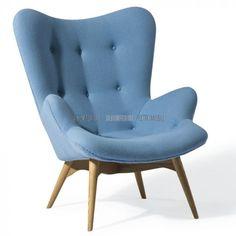moebel wohnzimmer Wonderful Light Blue Armchair 81 In Home Decor Arrangement Ideas with Light Blue Armchair Blue Armchair, Chair And Ottoman, Sofa Chair, Sofa Design, Interior Design, Blue Furniture, Furniture Design, Home Living, Living Room Sets
