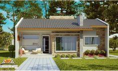 Confira projetos e plantas de casas populares criados por nossa equipe