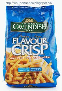 Coupons et Circulaires: .99¢ Frites FLAVOUR CRISP CAVENDISH