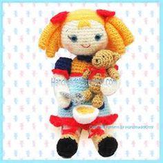 ... the Three Little Bears Amigurumi PDF Crochet Pattern by HandmadeKitty