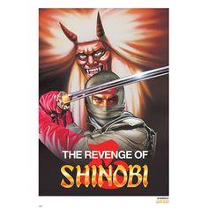 Revenge of Shinobi Art Print (Poster Size) - SEGA Mega Drive