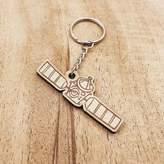 Liam Leather Keyring Birthday Name Optional Engraving