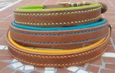 Halsband und Leine aus Leder https://www.etsy.com/de/listing/466118241/halsband-und-leine-aus-leder-gepolstert