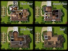 practical magic house plan - Google Search