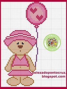 Priscila Junqueira Ponto Cruz: Ursinha Charmosa