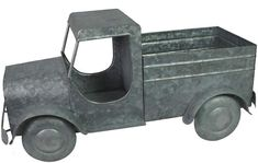 Accent your home's farmhouse style with this galvanized truck planter from SONOMA Goods for Life. Vintage Farmhouse, Farmhouse Style, Sonoma Goods For Life, Country Decor, Vintage Decor, Cleaning Wipes, Indoor Outdoor, Planters, Trucks