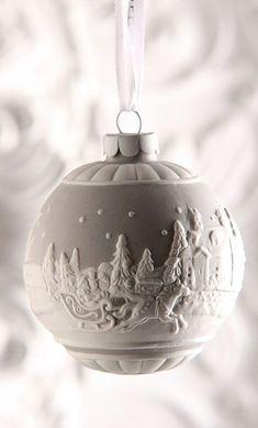 Wedgwood Sleigh Ride 2015 Christmas Ornament