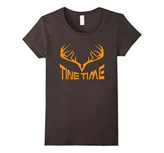 Women's Tine Time: Deer Rack Antlers Tines Hunting Shirt ... https://www.amazon.com/dp/B01LX6UISG/ref=cm_sw_r_pi_dp_x_f6p4xbB43GVND