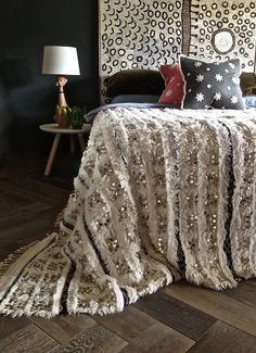 Vintage Handira Moroccan Wedding Blanket by Societyofwanderers https://www.etsy.com/listing/229144707/vintage-handira-moroccan-wedding-blanket?ref=listing-shop-header-3
