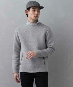 UNITED TOKYO MENS  ダンボールニットロングスリーブプルオーバー【made in japan】  ¥12,744税込(Size2)