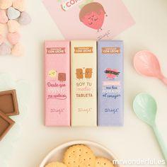Pack de 3 chocolatinas para tu amorcete. #mrwonderfulshop #chocolat #sweet #sanvalentin #valentinesday #love #loveyou #couple