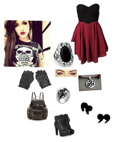 """""""Beautiful badass"""" by hillaryhale2 ❤ liked on Polyvore featuring Club L, Tory Burch and Manuel Bozzi"""