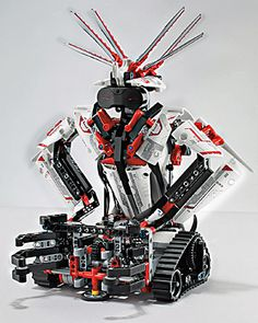 Lego's sword-wielding, mohawked humanoid robot comes with its own apps for Android and Apple's iOS, which will allow users to remotely control their creations.