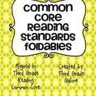 You will find 44 different foldables to use with any text.  They are aligned with the 3rd grade Common Core reading standards.  The foldables can b...