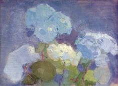 View Hortensia (Hydrangea) By Helene Schjerfbeck; oil and tempera on canvas; Access more artwork lots and estimated & realized auction prices on MutualArt. Helene Schjerfbeck, Hortensia Hydrangea, Hydrangeas, Painting Still Life, Paintings I Love, Female Painters, Famous Art, Painting Inspiration, Flower Art