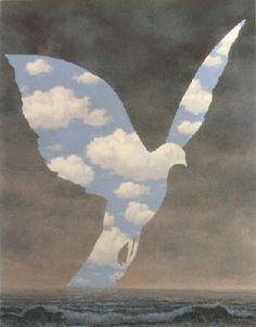 The Big Family by Rene Magritte, 1963