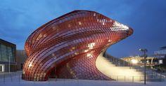 Vanke Pavilion; Milan Expo 2015 / Daniel Libeskind