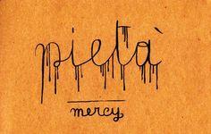 Learning Italian Language ~ Pietà (mercy) IFHN