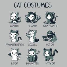 Cat cotumes