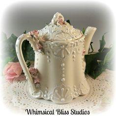 Whimsical Bliss Studios - Victorian Teapot