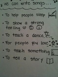We can write songs to... -- < found when I pinned ... http://www.pinterest.com/pin/507710557966871254/ . >