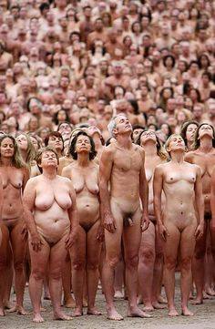 Spencer tunick group nudes you