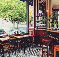 Paris est une Fête! — Restaurant La Fontaine de Belleville, 31-33 Rue...