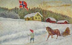 Julekort Chr. Magnus