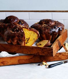 Saffron and sour-cherry brioche recipe, Nadine Ingram, Flour & Stone, Sydney :: Gourmet Traveller