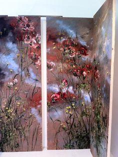 Claire BASLER - Contemporary Artist - Flowers - Expo Paris
