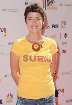 Stars Who Beat Cancer: Maura Tierney beat breast cancer, because of early detection.