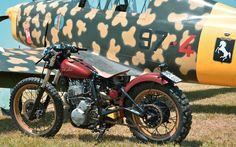 XL600 Hardtail | Inazuma café racer